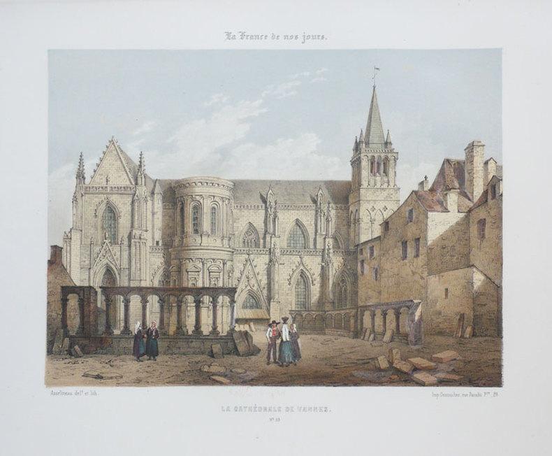 [VANNES] La Cathédrale de Vannes. . ASSELINEAU (Léon-Auguste);