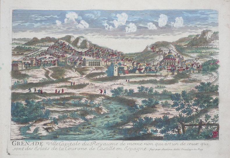 Grenade ville capitale du royaume de meme non qui est un de ceux qui sont des estats de la Courone de Castille en Espagne.. AVELINE (Pierre);