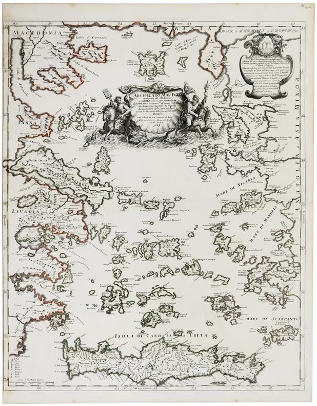 Arcipelago Mar Egeo.. CANTELLI da VIGNOLA (Giacomo);