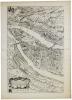 [LYONNAIS] Carte de l'ancienne ville de Lyon.. TARDIEU (Nicolas Henri) & MENESTRIER (Claude-François).