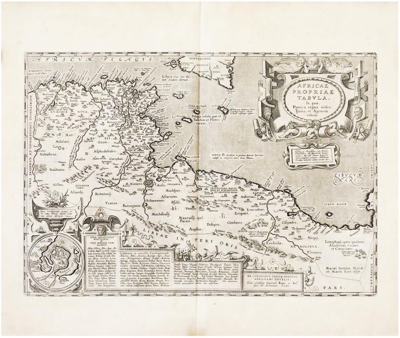 Africae propriae tabula.. ORTELIUS (Abraham).