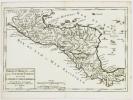 [AMERIQUE CENTRALE] Partie du Mexique ou de la Nouvelle Espagne où se trouve l'audience de Guatimala.. ROBERT de VAUGONDY (Didier).