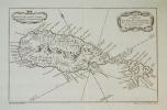 [SAINT KITTS] Carte de l'isle St. Christophe.. BELLIN (Jacques-Nicolas);