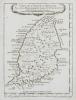 [GRENADE] Carte de l'isle de la Grenade.. BELLIN (Jacques-Nicolas).