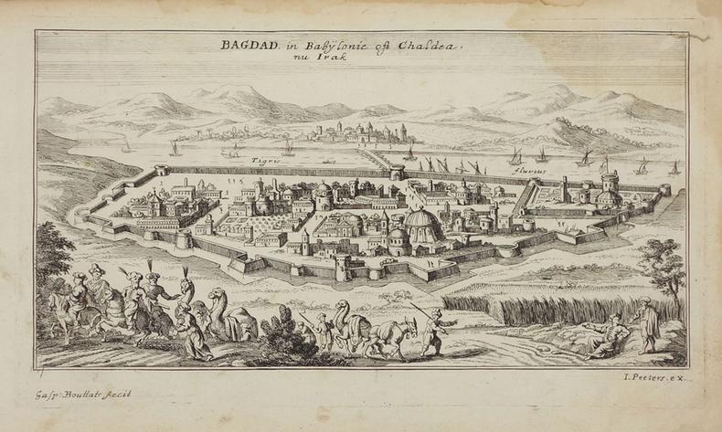 [IRAK] Bagdad in Babylonie oft Chaldea nu Irak.. PEETERS (Jan).