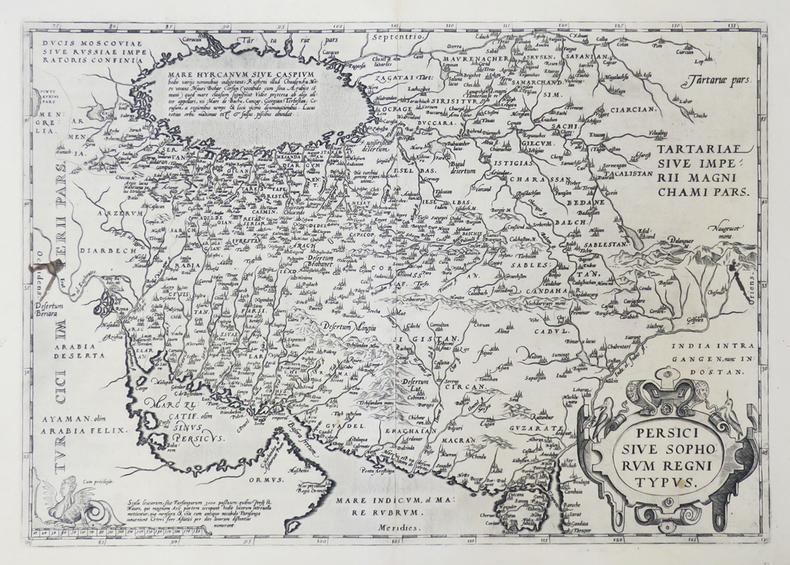 [PERSE] Persici sive Sophorum regni typus.. ORTELIUS (Abraham).