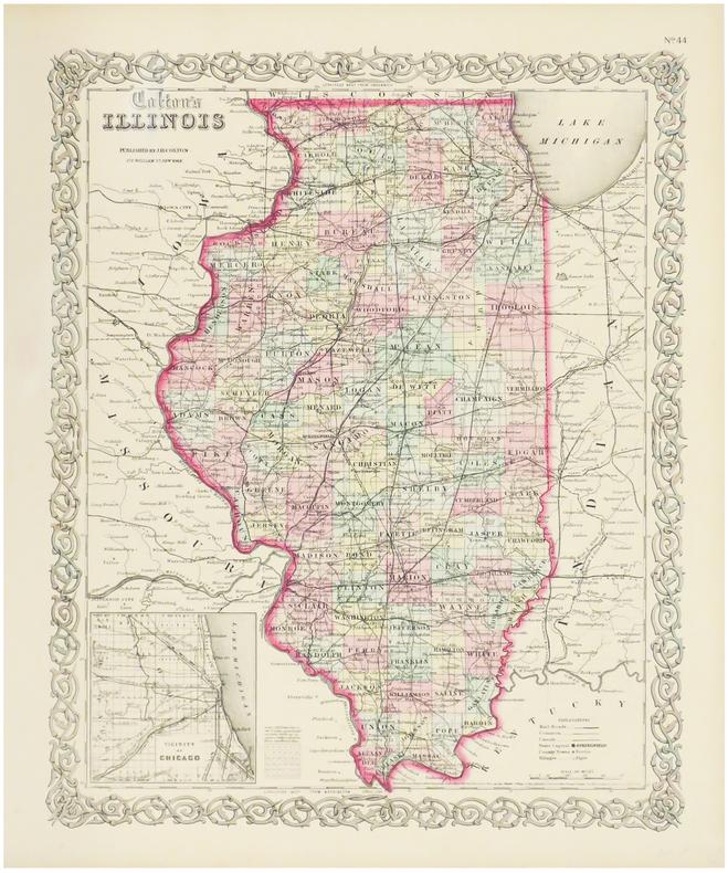 Illinois.. COLTON (Joseph Hutchins).