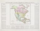 Carte géographique, statistique et historique de l'Amérique septentrionale.. BUCHON (Jean Alexandre).