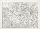 [BELGIQUE] Plan et environs de Charleroy.. JAILLOT (Bernard).