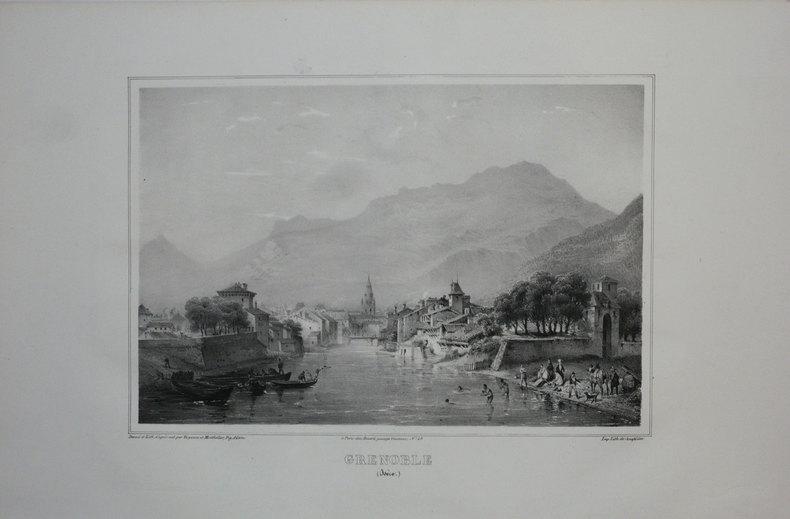 GRENOBLE (Isère).. TIRPENNE;MONTHELIER;