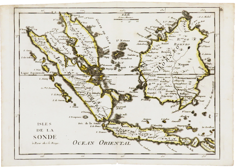 [SUMATRA/JAVA/BORNEO] Isles de la Sonde.. LE ROUGE (Georges-Louis).