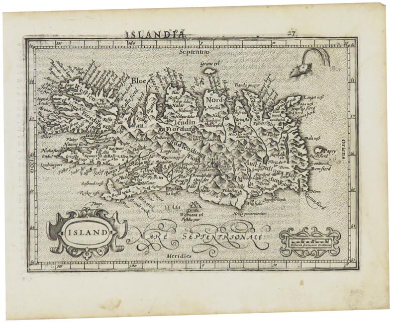 [ISLANDE] Island.. MERCATOR (Gerard) & HONDIUS (Jodocus).