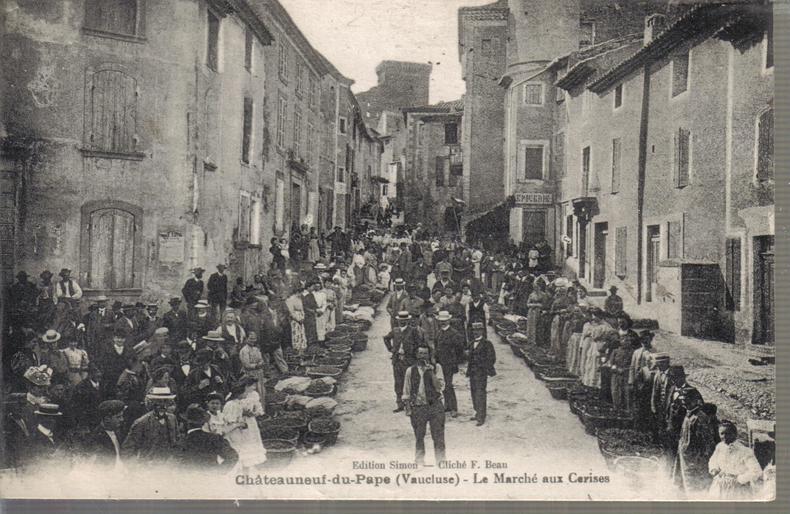 Le Marché aux Cerises. ANONYME