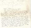 Lettre Autographe Signée. BECKER Lucien