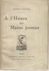 A l'HEURE des MAINS JOINTES. VIVIEN Renée