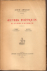 Oeuvres poétiques en patois d'Auvergne. JARSAILLON Jacques