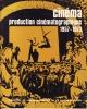 Cinéma - production cinématographique, 1957 - 1973. COLLECTIF