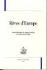 Rêves d'Europe. NOWICKI Joanna, RADUT-GAGHI & al.