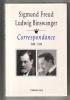 Correspondance, 1908 - 1938. FREUD Sigmund & BINSWANGER Ludwig