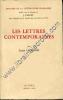Les lettres contemporaines. CHAIGNE Louis