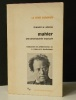 MAHLER.  Une physionomie musicale. .  ADORNO (Th. W).
