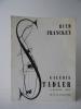 RUTH FRANCKEN. Catalogue de l'exposition présentée du 11 au 31 mai 1956 à la galerie Stadler à Paris.. RUTH FRANCKEN.