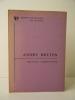 ANDRE BRETON. A bibliography.. [BRETON (André)]  SHERINGHAM (Michael)