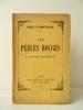 LES PERLES ROUGES. 93 sonnets historiques.. MONTESQUIOU (Robert de)