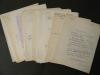 LETTRES A PIERRE BEARN et autres documents. MERRIEN (Jean)