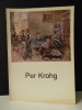 PER KROHG. Catalogue in-4 broché, 46 pages, de l'exposition présentée par la galerie Rambert en octobre-novembre 1986.. PER KROHG.