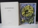 MORPHEMES. Cahiers de Imre Pan. N° 3, janvier 1964. Lithographie originale hors texte en couleurs de Corneille. . [REVUE]