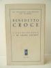 CONTRIBUTION A MA PROPRE CRITIQUE.. CROCE (Benedetto)
