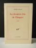 LA DERNIERE FETE DE L'EMPIRE. . RINALDI (Angelo).