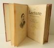 LA LECTURE. Magazine littéraire bi-mensuel. N° 97 à 102 : 10 juillet à 25 septembre 1891.. [MAUPASSANT, BARRES, RICHEPIN, LOTI…]