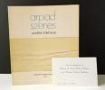 ARPAD SZENES. Lumière - Portugal. Catalogue de l'exposition présentée à Paris en février-mars 1986. . [ARPAD SZENES]