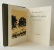 DEFENSE DE LA POESIE. Traduit de l'anglais par Fouad El-Etr. . SHELLEY (Percy Bysshe)