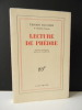 LECTURE DE PHEDRE. Nouvelle édition revue et augmentée.. MAULNIER (Thierry)