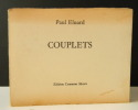 COUPLETS.. ELUARD (Paul)