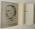 CAUSERIES.  Avec des lettres inédites, un portrait par P. E. Colin et un autographe.. RENARD (Jules)