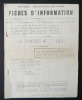 LE CONGRES DE L'U.G.T.A. 1963. [UNION GENERALE DES TRAVAILLEURS ALGERIENS]  ETUDES ANTICOLONIALISTES. N°3/4 du 5 février 1963.