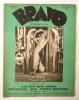 J'AI ETE HUIT JOURS FIGURANTE AUX FOLIES-BERGERES. . [FOLIES-BERGERES]  BERNARD (Sylvette). Revue BRAVO avril 1931.