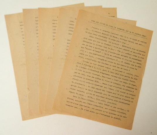 Maréchal PETAIN : SOUS LES VOUTES DE L'ARC DE TRIOMPHE (25 et 26 juillet 1951). . [PETAIN (Maréchal)]
