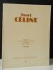 TOUT CELINE n°4. Répertoire des livres, manuscrits et lettres de L.-F. Céline passées en vente au cours des années 1979 et 1980.. [CELINE]