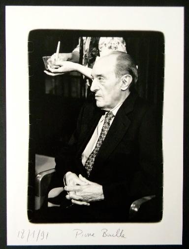 PHOTOGRAPHIE ORIGINALE. Portrait de Pierre Boulle.. BOULLE (Pierre)