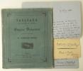 TABLEAUX AQUARELLES ET DESSINS PAR EUGENE DELACROIX COMPOSANT LA COLLECTION DE M. GEORGES AUBRY.. [DELACROIX]