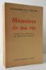 MEMOIRES DE MA VIE. Précédés d'une introduction de M. François Porché.. VERLAINE (ex-Madame Paul)