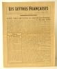 LES LETTRES FRANCAISES n° 14 – mars 1944.. [RESISTANCE]