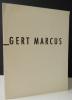 GERT MARCUS. Catalogue exposition Gert Marcus chez Colette Allendy du 13 avril au 5 mai 1956. . GERT MARCUS.