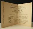 DESSINS ET SCULPTURES DE GILIOLI. Exposition Dessins et sculptures de Gilioli du 16 février au 9 mars 1946 à la Galerie René Breteau à Paris.. ...