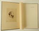 DE NITTIS. Monographie illustrée de trente et une reproductions en noir et d'un portrait de De Nittis gravé par lui-même en frontispice.. BENEDITE ...